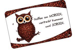 """KESPER Brettchen """"Kaffee-Eule"""""""