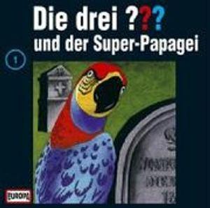 Die Drei ???   1-001/und der Super-Papagei