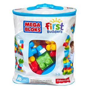 Mega Bloks Bausteinebeutel bunt (60 Teile)