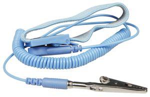 ESD Erdungsarmband McPower, Antistatik-Armband mit Zuleitung