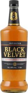 Black Velvet Blended Canadian Whisky 40% 1,0L