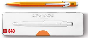 CARAN D'ACHE Druckkugelschreiber 849 POPLINE FLUO orange