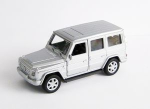 MERCEDES-BENZ G-Class G500 V8 Modellauto aus Metall Modell Auto Spielzeugauto Kinder Geschenk 15 (Silber)