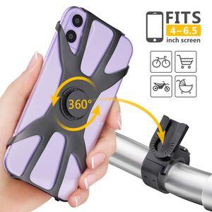 Universelle Handyhalterung Fahrrad 360° das Fahrrad oder das Motorrad Für iphone Samsung