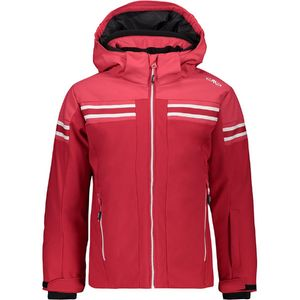 Cmp Girl Jacket Snaps Hood Ita Red Ita Red 164