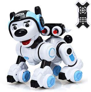 Ferngesteuerter Roboter, Intelligenter Spielzeughund für Kinder, Lernspielzeug Roboter, Interaktiver & Programmierbarer Roboterhund, Roboterhund mit Tanz- & Musikfunktion