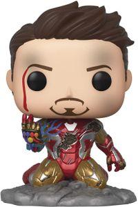 Funko pop Avengers Endgame I Am Iron Man Glow In The Dark + Pop Protector
