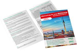 RNK Verlag Vordruck Mietvertrag für eine Wohnung Berlin