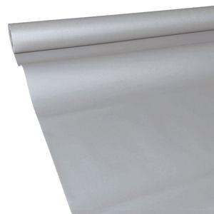 50m x 1,15m JUNOPAX Papiertischdecke stahl-grau, nass- und wischfest