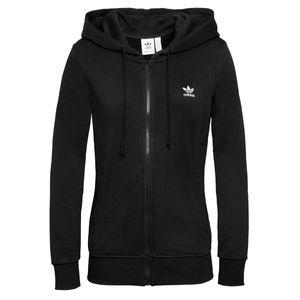 Adidas Originals Damen Sweatshirt TRACK TOP, Größe:40, Farben:black