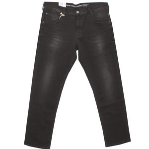 16237 Mustang, Chicago Tapered Stre,  Herren Jeans Hose, mittelstarker Stretchdenim, black used, W 31 L 34