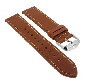 Timex Waterbury | Uhrenarmband 20mm | Leder braun für TW2P95800