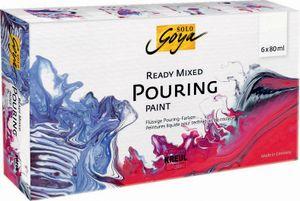 """KREUL SOLO GOYA Pouring-Set """"Ready Mixed"""" 6 x 80 ml"""
