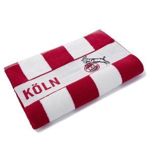 1. FC Köln Badetuch Blockstreifen rot/weiß