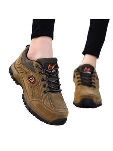 Gleicher Stil Für Männer Und Frauen Outdoor-Sportschuhe Atmungsaktive Rutschfeste Flache Schuhe Klettertrainingsschuhe,Farbe: Braun,Größe:48