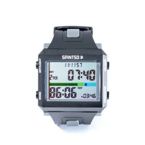 Schiedsrichteruhr SPINTSO Watch grau, b3015
