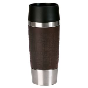 emsa Isolierbecher Travel Mug  360 ml, Farbe Braun