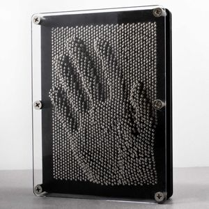 3D Nagelbild Pinart Pinpressions Nagelspiel Nagelbrett Pinpressions Deko 21x16cm