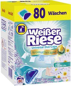 Weißer Riese Universal Duo-Caps Aromatherapie 1x80 Waschladungen Waschmittel