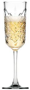 Pasabahce 440356 Timeless Sektglas, Sektkelch, 175ml, Glas, transparent, 4 Stück