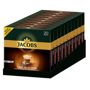 JACOBS Kapseln Café Selection 10 x 20 Nespresso®* kompatible Kaffeekapseln