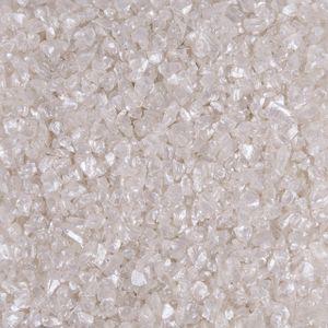 1kg Glasgranulat Dekogranulat Glas perlmutt schimmernd 1-2mm
