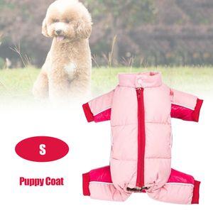 Haustier Hund Kleidung Winter warme Jacke dicker Welpen Mantel kleine Hunde Haustiere Kleidung