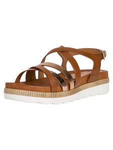 Marco Tozzi Damen Sandale braun 2-2-28412-24 F-Weite Größe: 39 EU