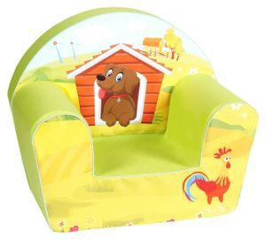 Knorrtoys Kindersessel Babysessel Sessel Sofa Dog on a farm