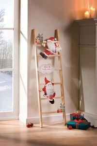 Dekoleiter 'Santas' weihnachtliche Dekoration winterlich festliche Stimmung