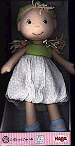 HABA Lilli and friends, Puppe Jil