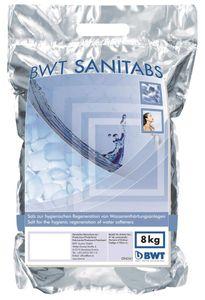 BWT Regeneriersalz Sanitabs, 8 kg