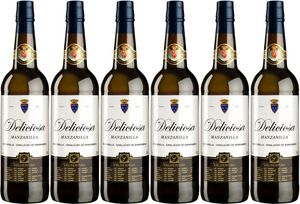 6x Manzanilla Deliciosa  – Valdespino Sherry, Jerez-Xèrés-Sherry – Weißwein