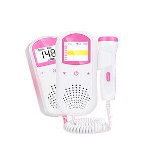 Baby LCD Ultraschalldetektor Fetaler Pränatale Herzfrequenz Herzschlagmonitor Fetale Herzanzeige
