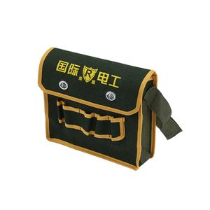 Schwer last Werkzeug tasche Toolkit Multi founction für Elektriker Lagerung Organizer tragbare verschleiß feste Werkzeug Schulter tasche für Carpenter Farbe m