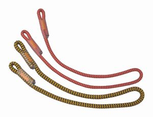 Prusik Lanyard Timber 8 mm (Verbindungselement) - Singing Rock, Farbe:rot, Größe:75cm