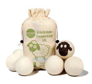 Trocknerbälle von aumondo aus 100% natürlicher Schafwolle