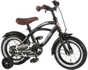 14 Zoll Yipeeh Black Cruiser Kinderfahrrad   Fahrrad  Jungenfahrrad zu  95% zusammengebaut