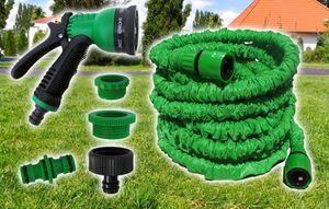 Flexi Gartenschlauch flexibler Wasserschlauch dehnbarer Schlauch Zauberschlauch Gartenschläuche - 7,5m