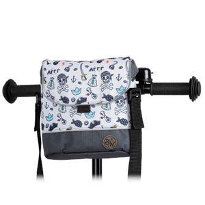 BAMBINIWELT Lenkertasche Tasche für Puky für Woom Laufrad Räder Roller Fahrrad Fahrradtasche für Kinder wasserabweisend mit Schultergurt, Modell 27