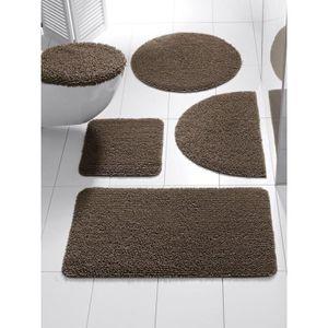 Heine Home Toilettenvorleger Duschvorleger Badematte rutschhemmend 70x140 cm