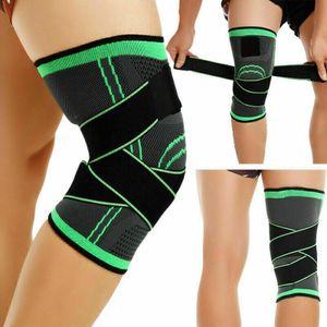 Kniebandage 3DKniestütze Schmerzen Kompression Sport Bandage