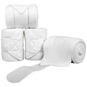 Polarfleecebandagen, Farbe:1200 weiß, Größe:300 cm