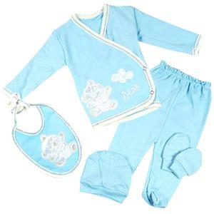 Lida Uni Neugeborenen 5 Teiliges Set Blau