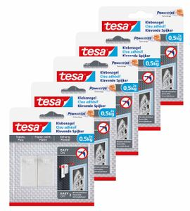 tesa Klebenagel Tapete & Putz 0,5 kg 5 Packungen
