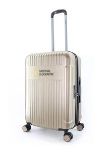 National Geographic Hartschalenkoffer Transit mit integriertem Zahlenschloss Gold One Size