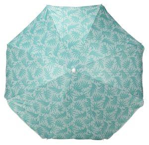 Sonnenschirm UV Schutz 50+ Strandschirm Balkonschirm Schirm knickbar Ø 160 cm Grün