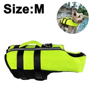 Hundeschwimmwesten Schwimmweste für Hund Tragbar Aufblasbar Rettungswesten für Kleine/Mitte/Groß Hunde