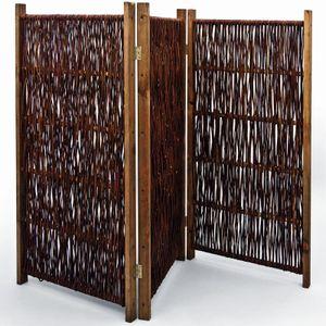 Noor Weiden-Paravent, ca. Größe (HxB) 120 x 240 cm 4-teilig; 154PARAV12240