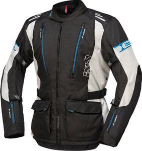IXS Lorin-ST Motorrad Textiljacke Farbe: Schwarz/Grau/Blau, Grösse: L